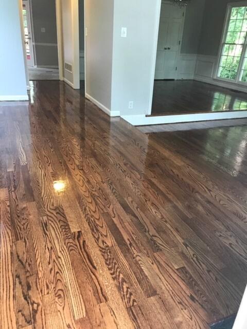 Solid hardwood flooring in Atlanta, GA from Delta Carpet & Decor