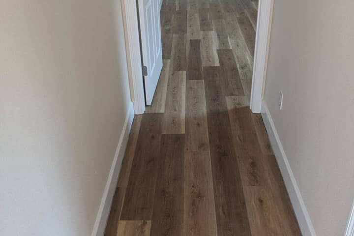 Wood flooring through the whole house in Homosassa, FL from LePage Carpet & Tile