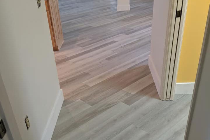 White tone hardwood flooring in Crystal Rivers, FL from LePage Carpet & Tile