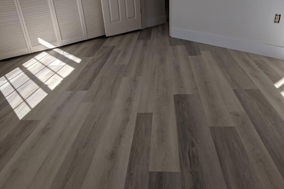 Wide plank light tone hardwood in Inverness, FL from LePage Carpet & Tile