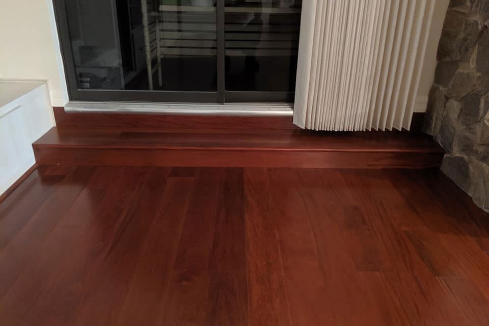 Classic hardwood with red tones in Lecanto, FL from LePage Carpet & Tile