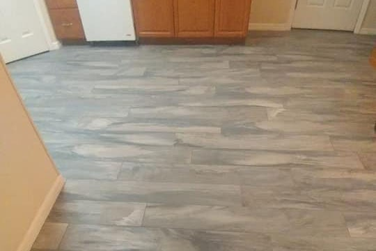 Luxury vinyl flooring installation in Citrus County, FL from LePage Carpet & Tile