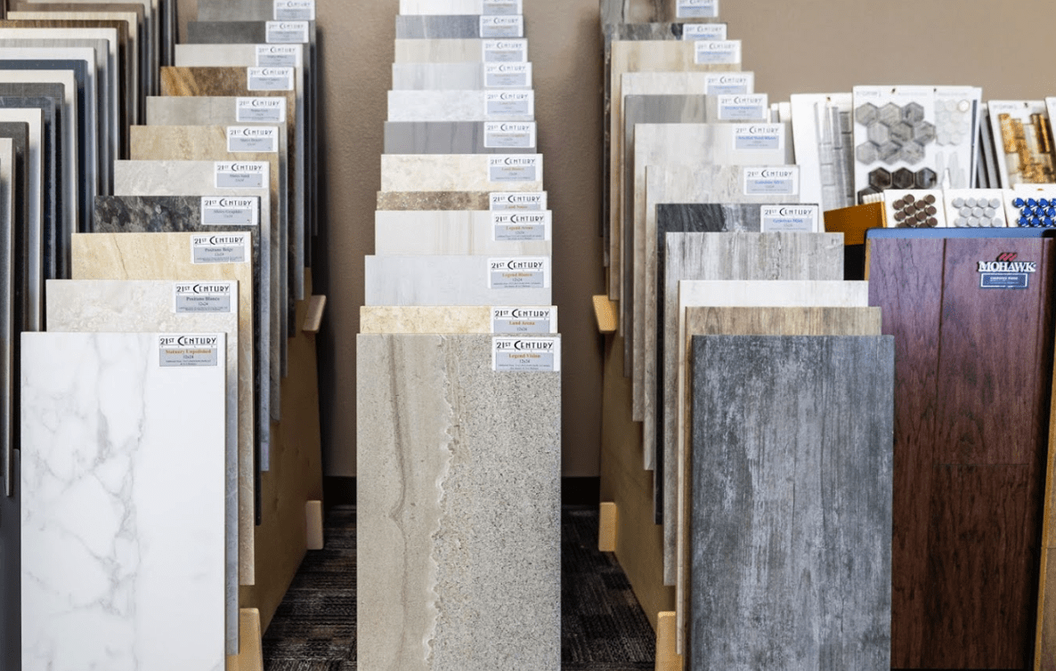 Luxury Vinyl flooring options for your Evansville, WI home