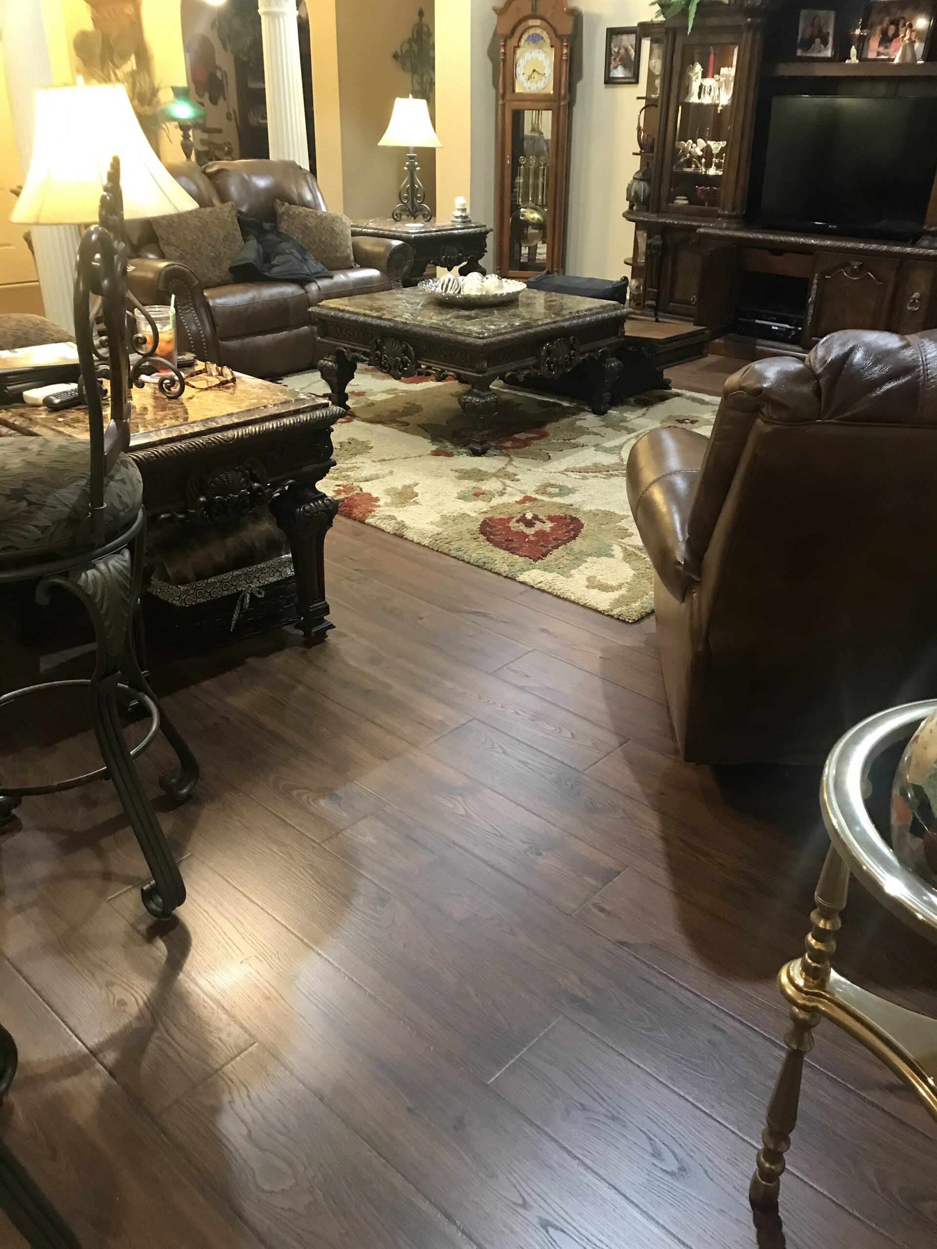 Luxury vinyl plank from Roop's Carpet in Cabot, AR