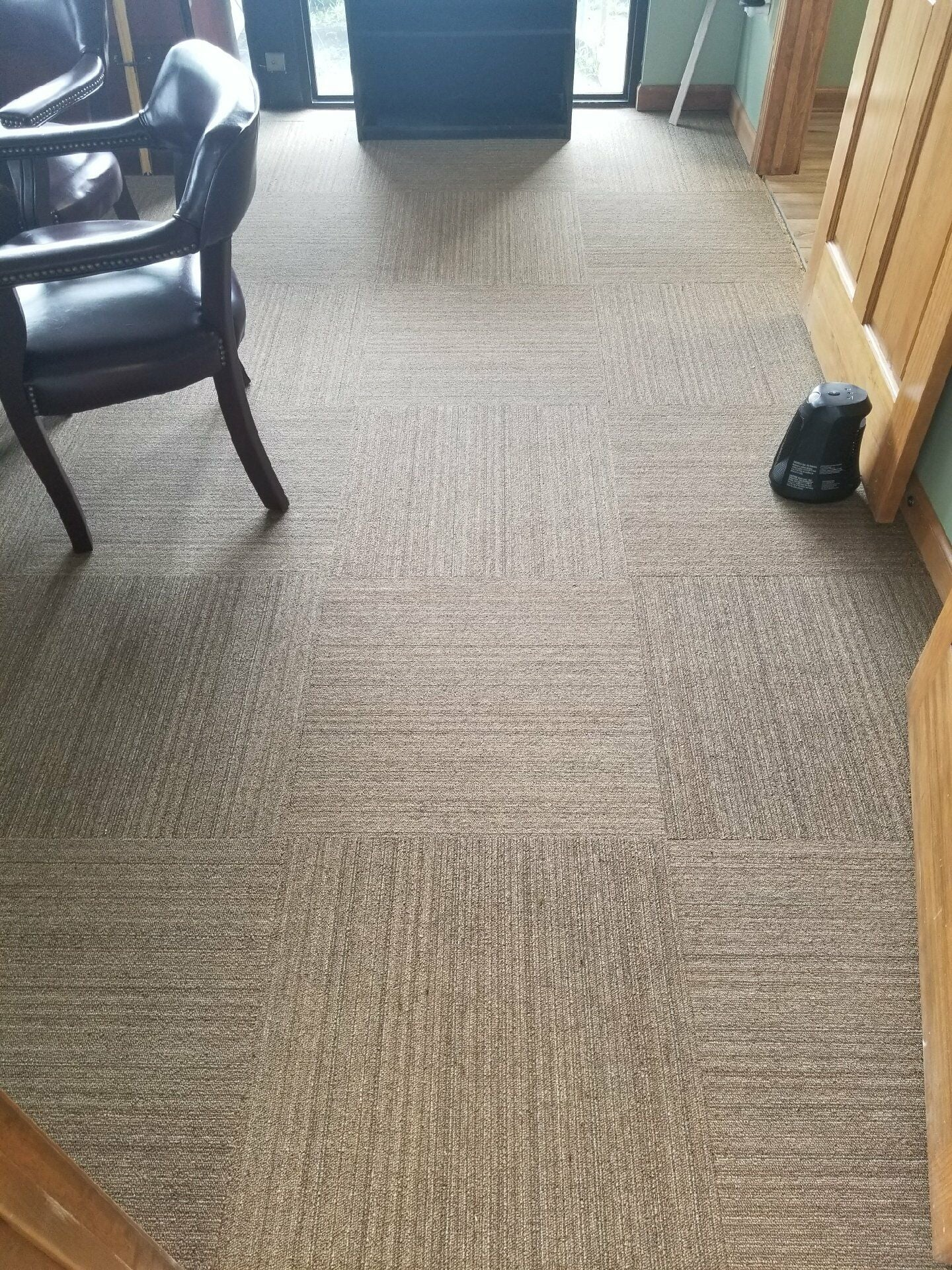 Carpet tiles from Roop's Carpet in Beebe, AR