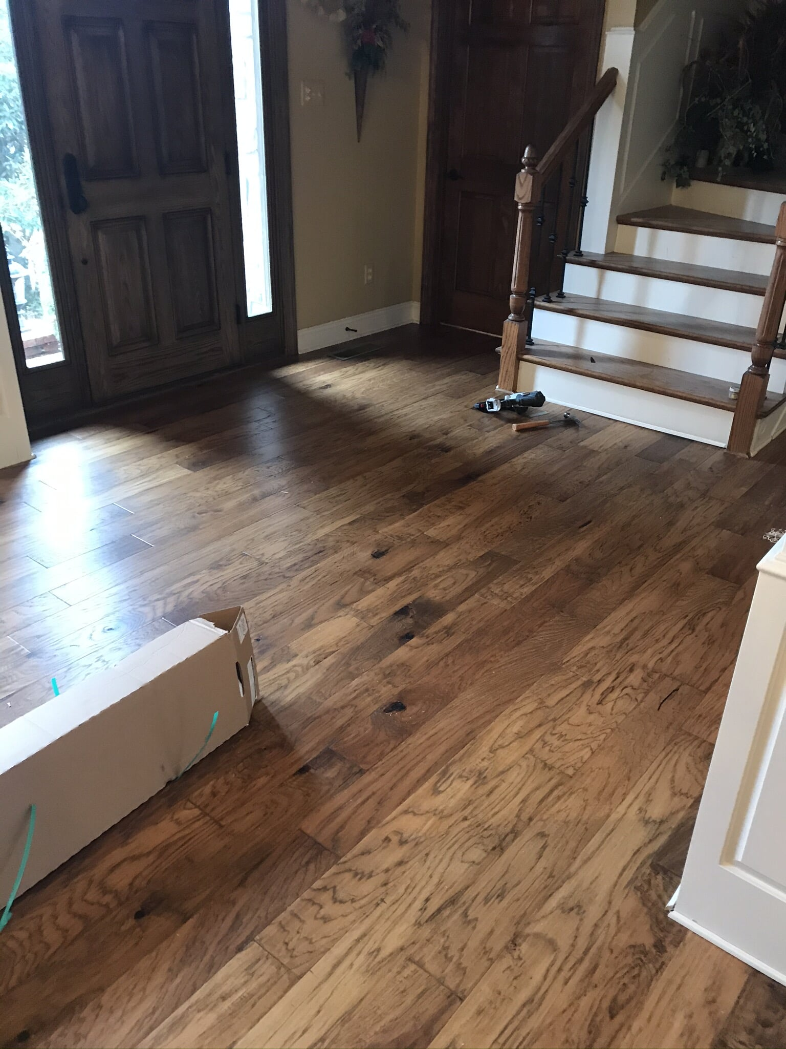 Hardwood floor from Roop's Carpet in Newport, AR
