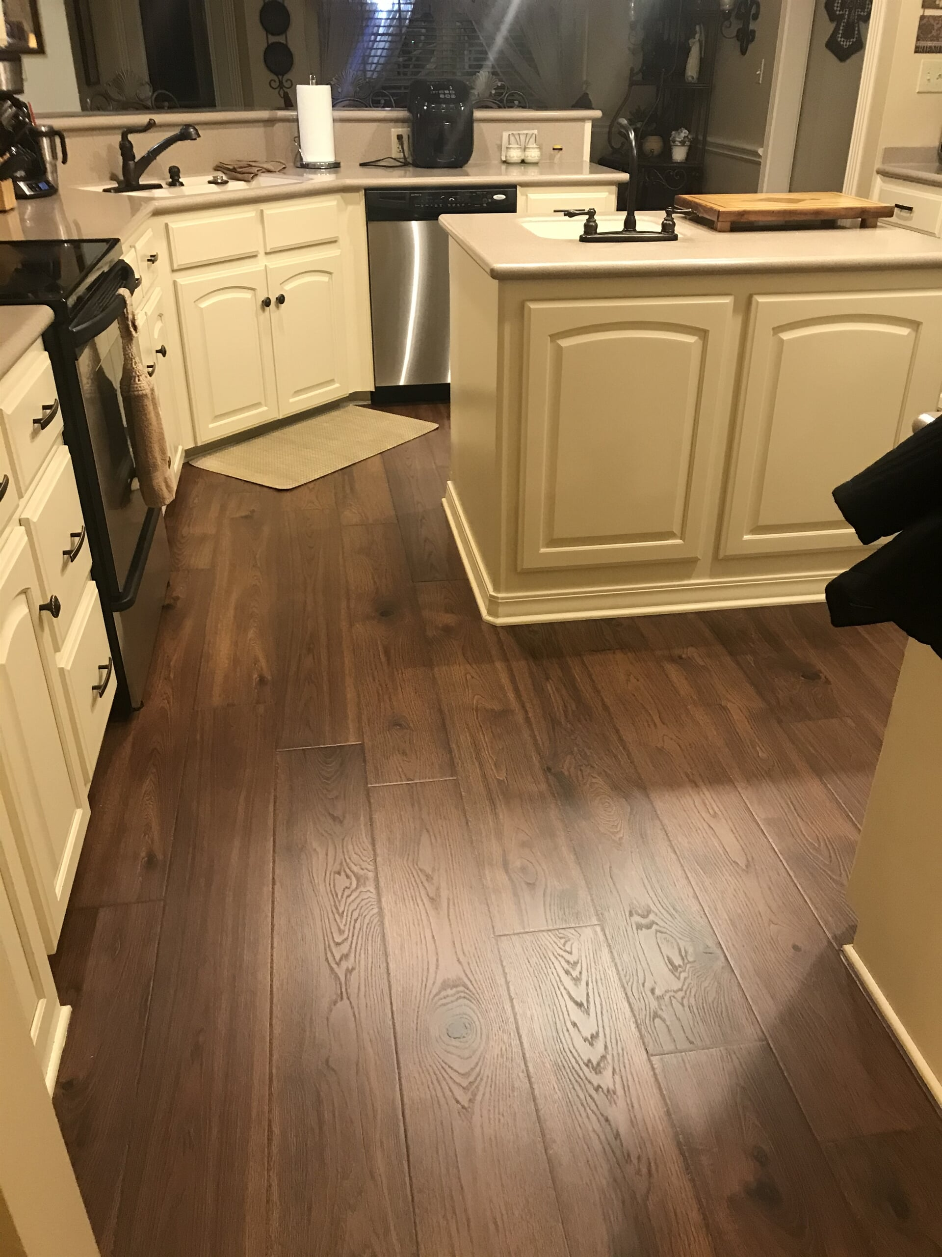 Luxury vinyl plank from Roop's Carpet in Searcy, AR