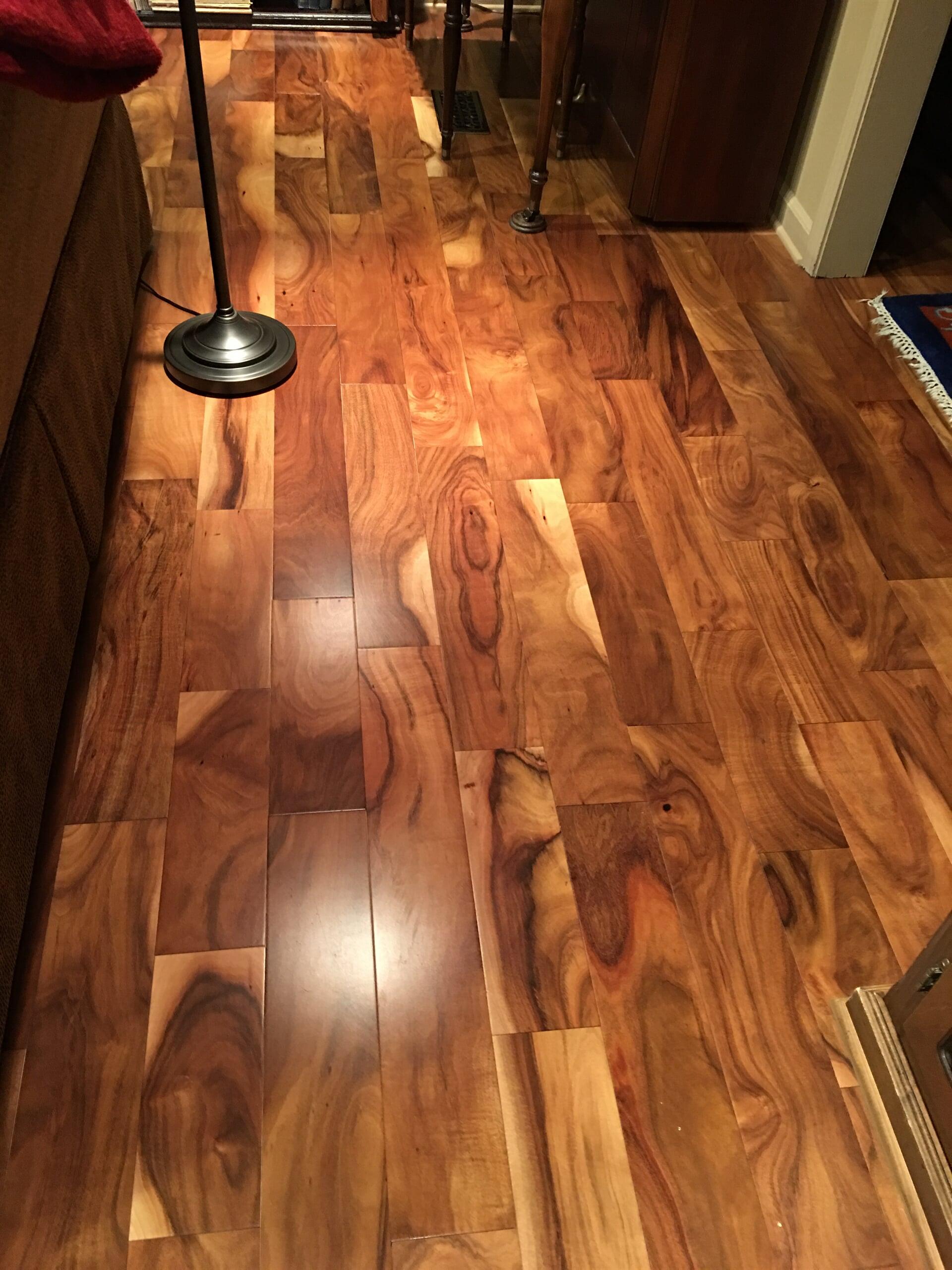 Wood floors from Roop's Carpet in Beebe, AR