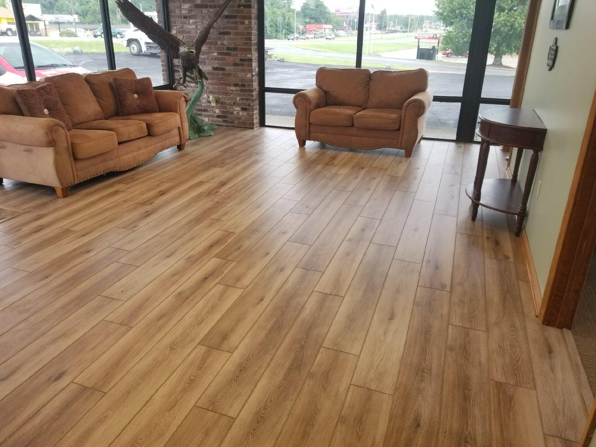 Luxury vinyl planks from Roop's Carpet in Bald Knob, AR