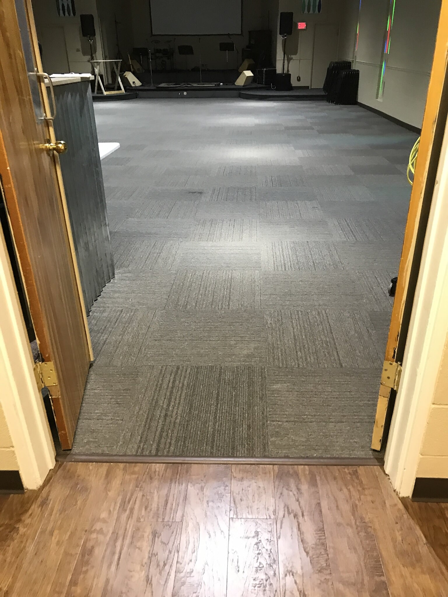 Carpet tiles from Roop's Carpet in Cabot, AR