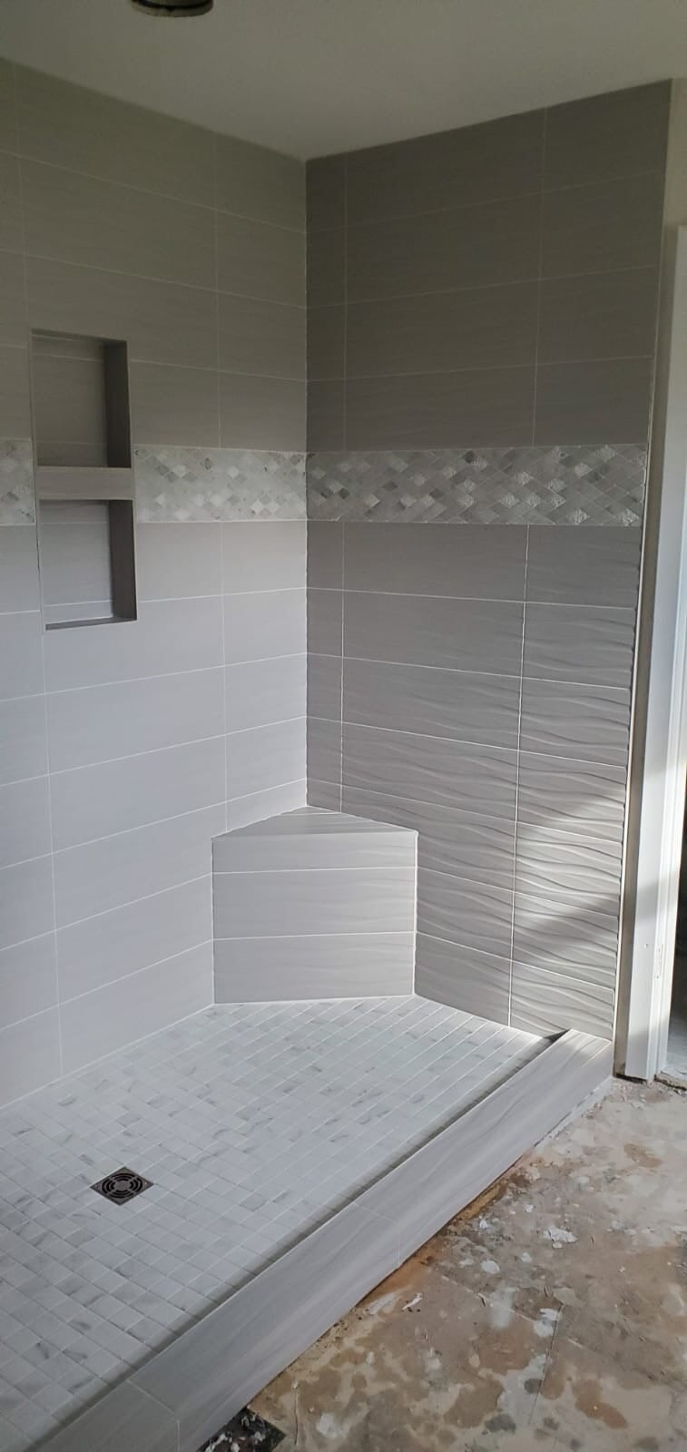 bathroom tile from Roop's Carpet in Cabot, AR