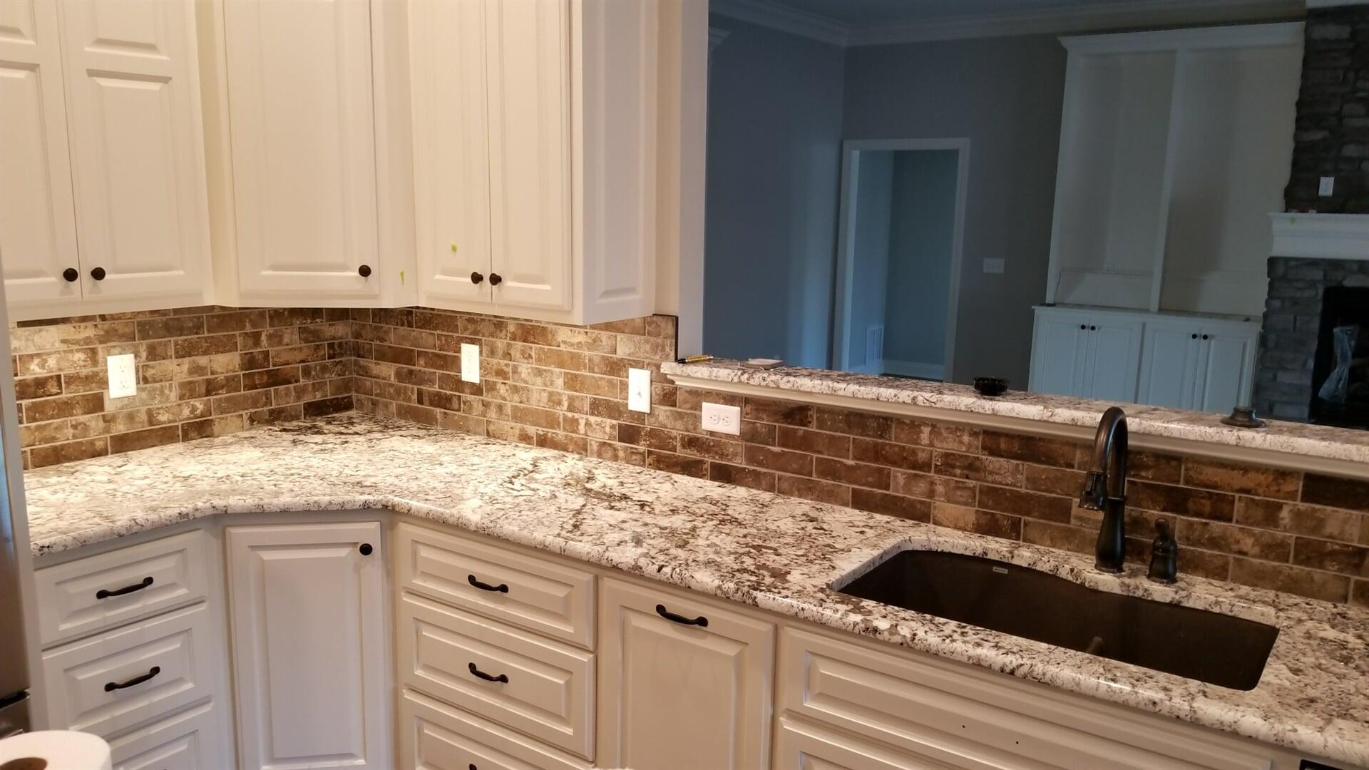 kitchen backsplash from Roop's Carpet in Bald Knob, AR