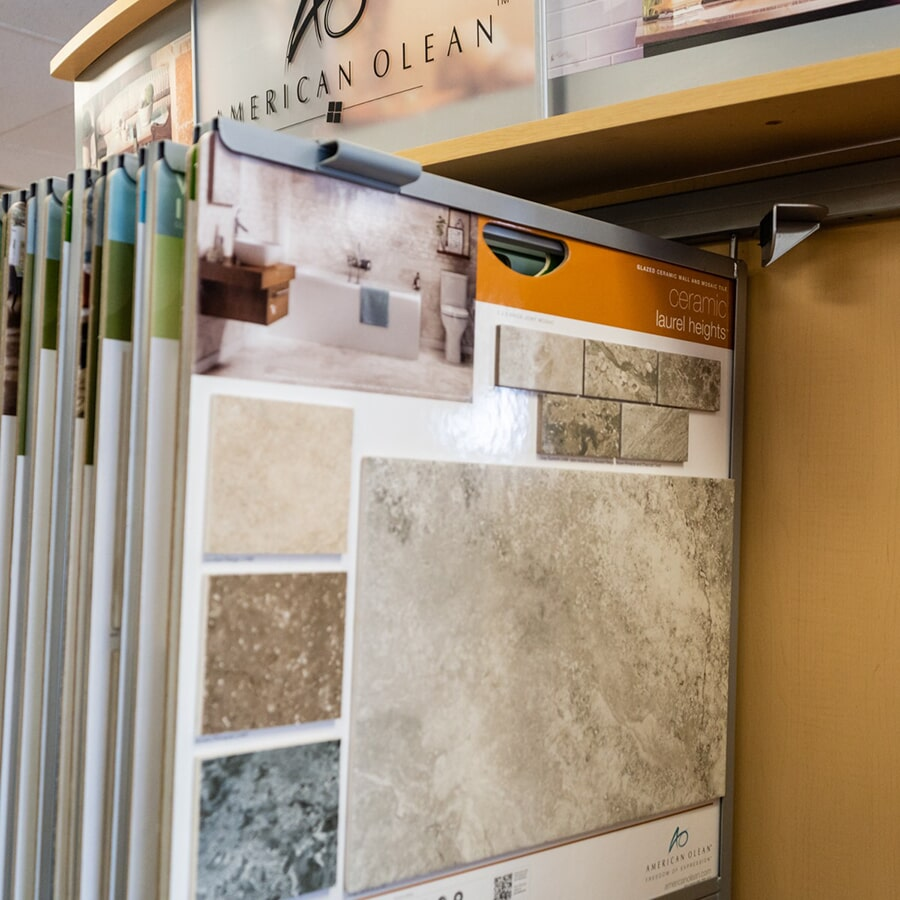 We carry top brands like American Olean for your Hazleton, PA home renovaiton
