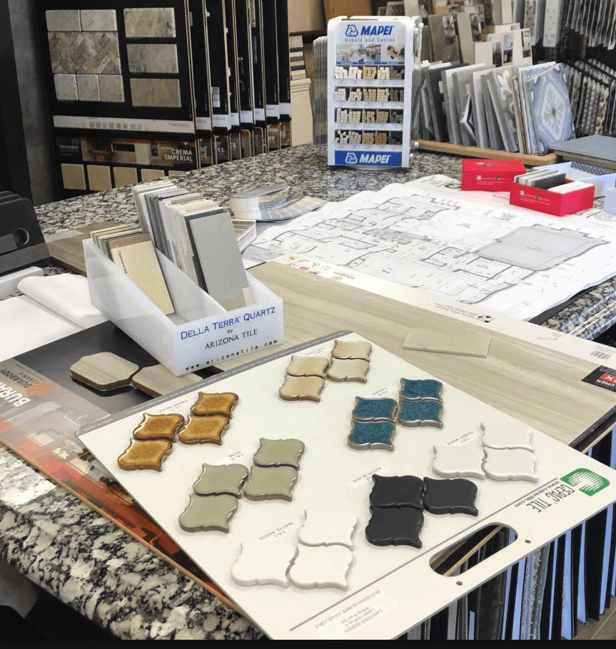 HC Floors and More showroom in Georgetown, TX
