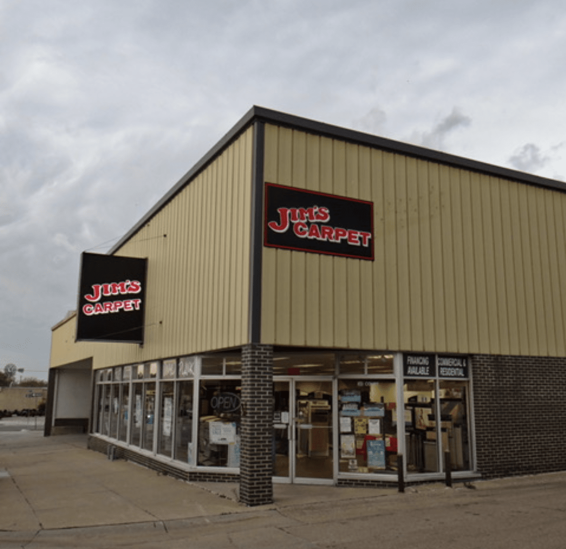 Visit us here at Jim's Carpet & Supplies in Beatrice, NE!