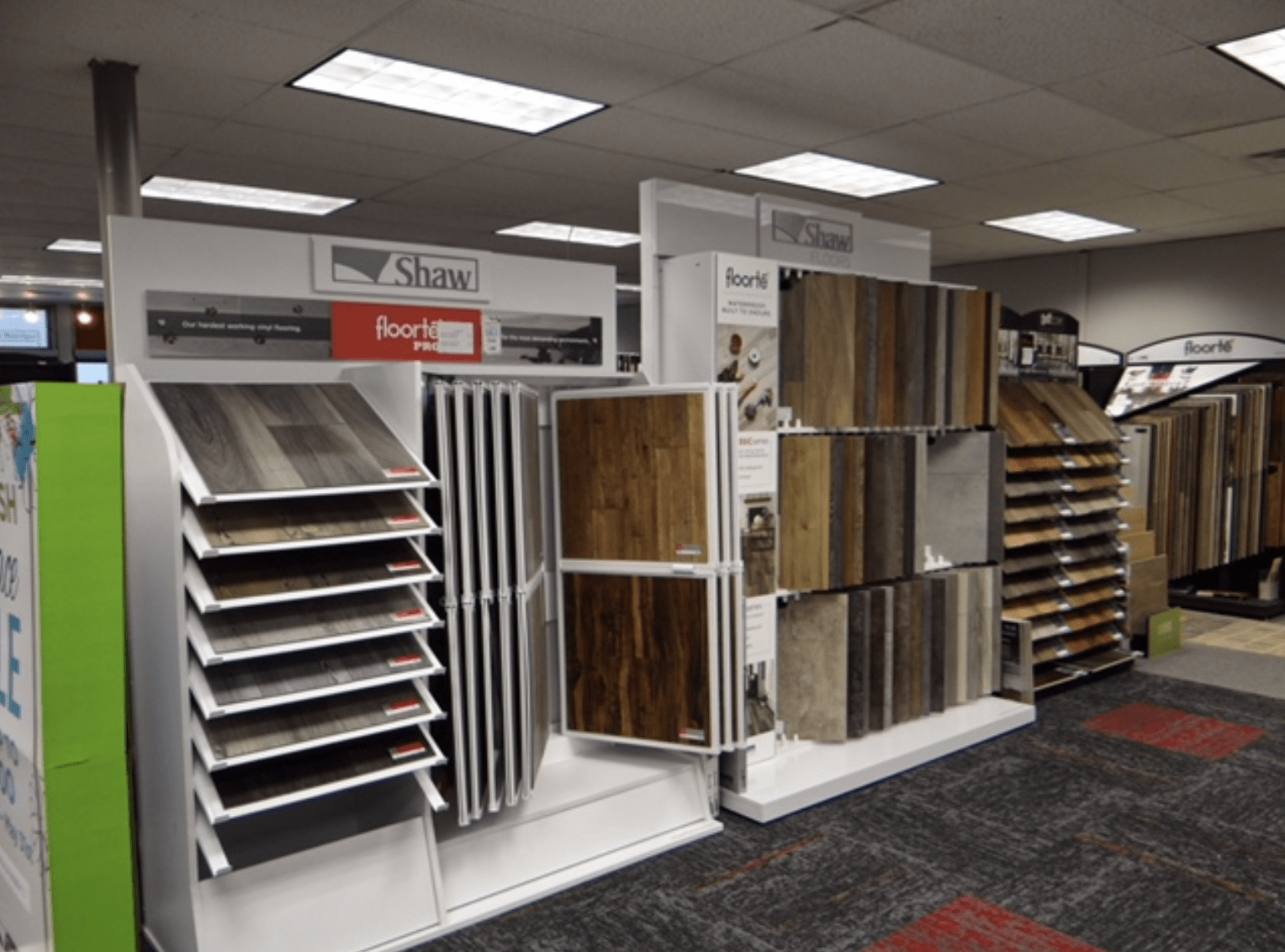 Waterproof flooring from Shaw for your Lincoln, NE home from Jim's Carpet & Supplies