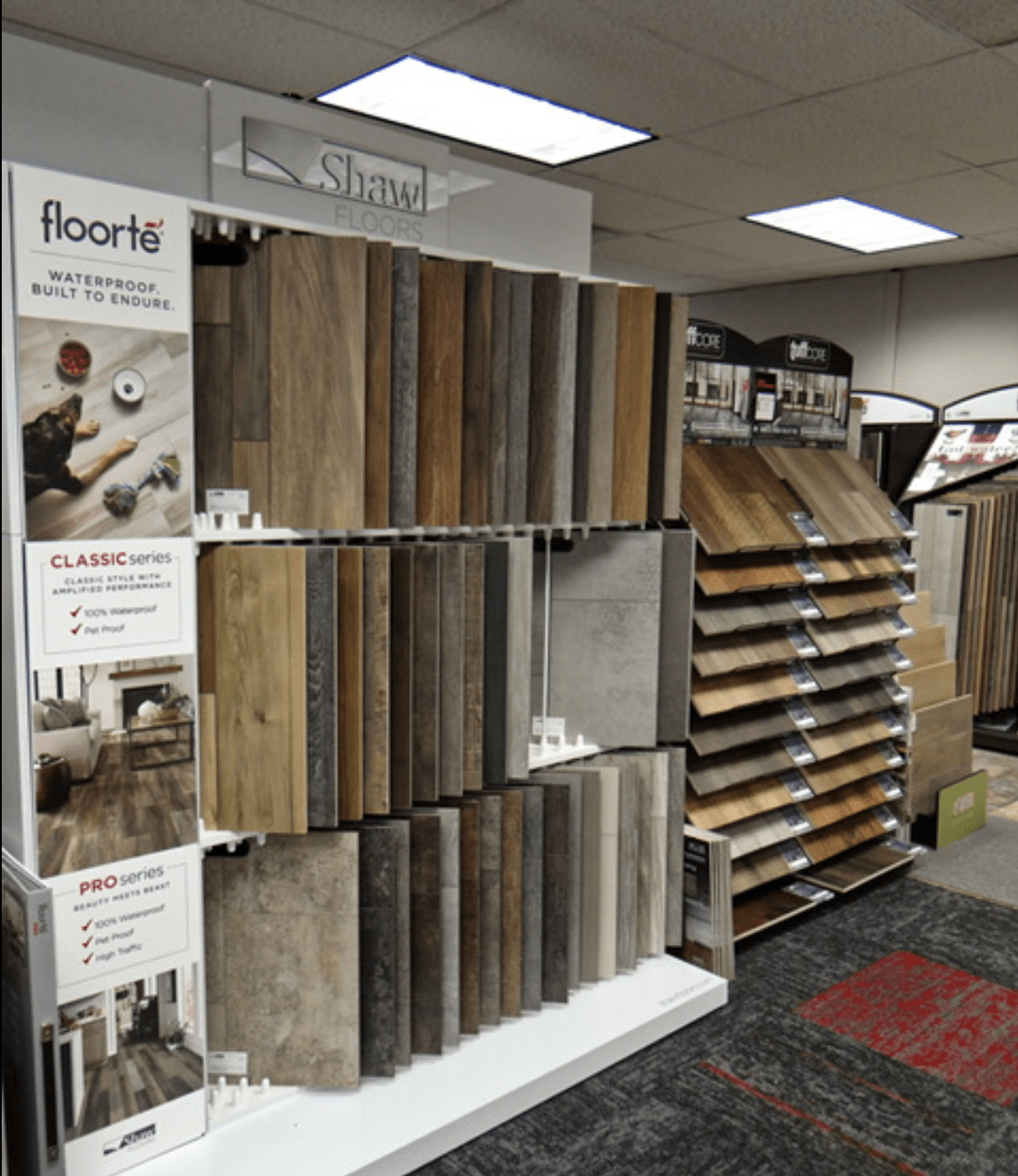Top products from Shaw Floors for your Gage County, NE home from Jim's Carpet & Supplies
