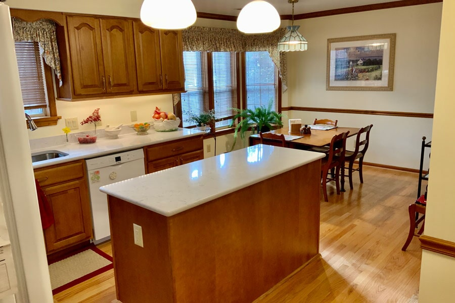 Kitchen remodeling in Leonardtown, MD by Southern Maryland Kitchen Bath Floors & Design