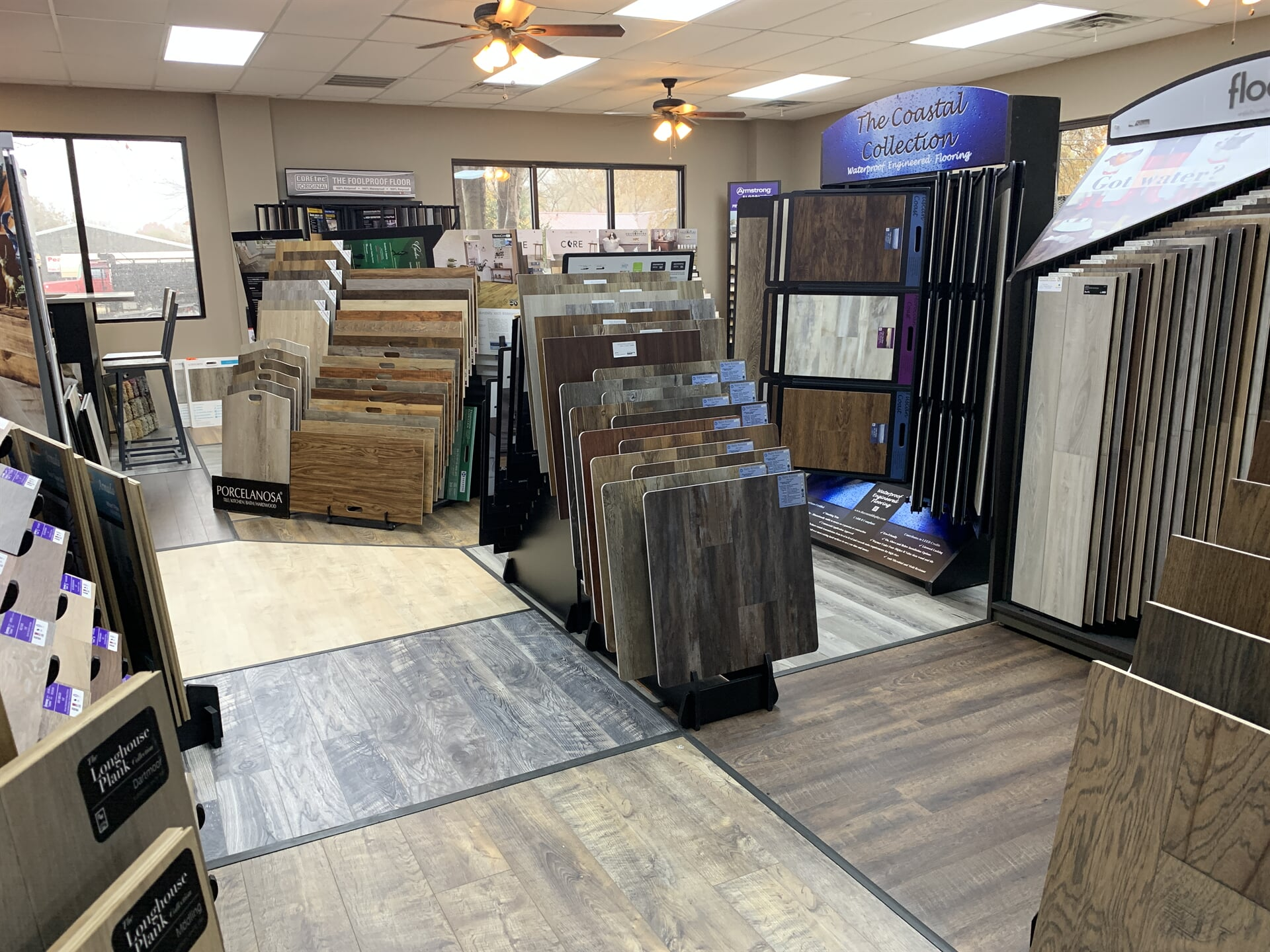 Waterproof engineered flooring for your Maddison County, AR home