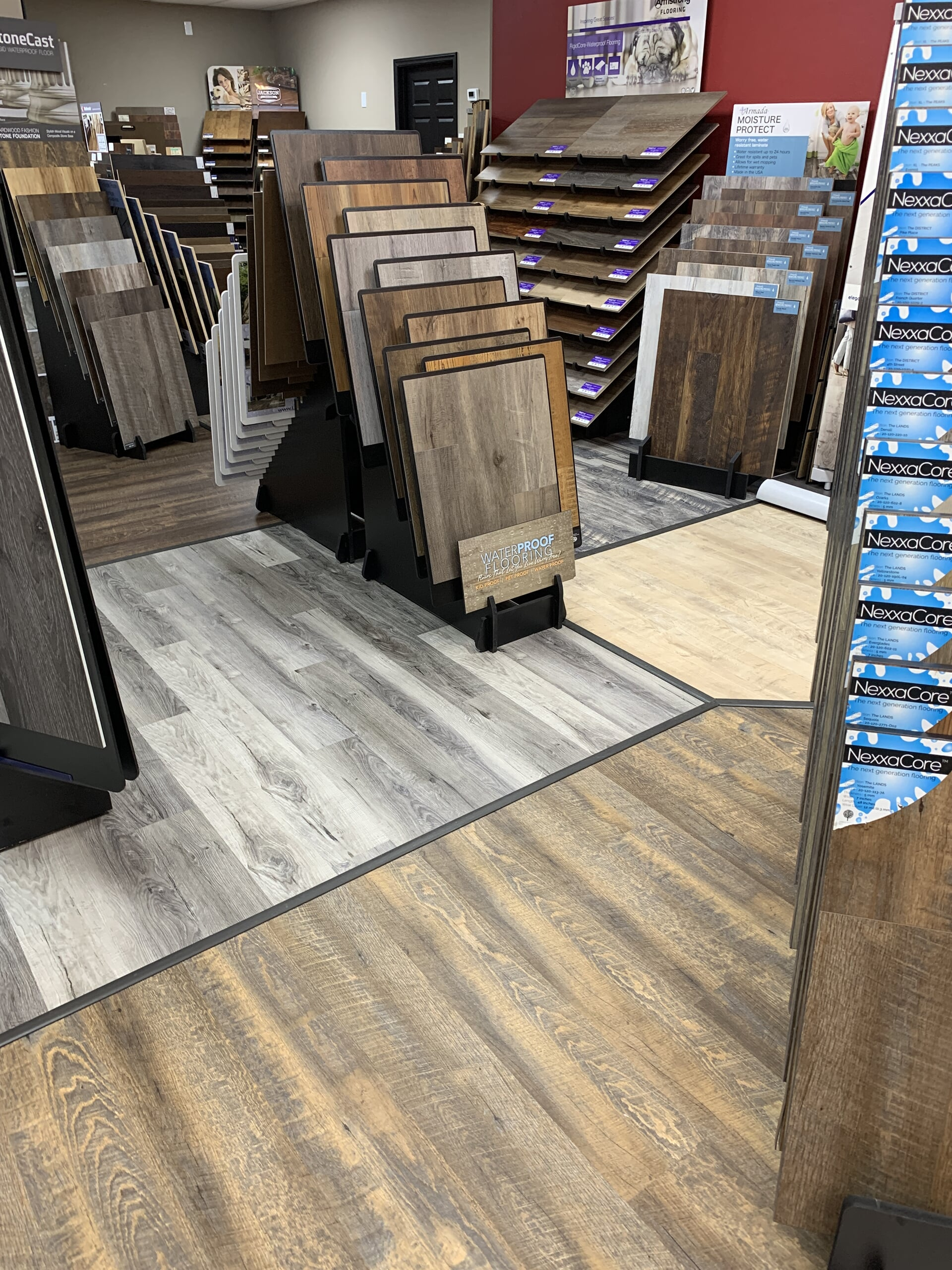 Wood-look waterproof flooring for your Bella Vista, AR home