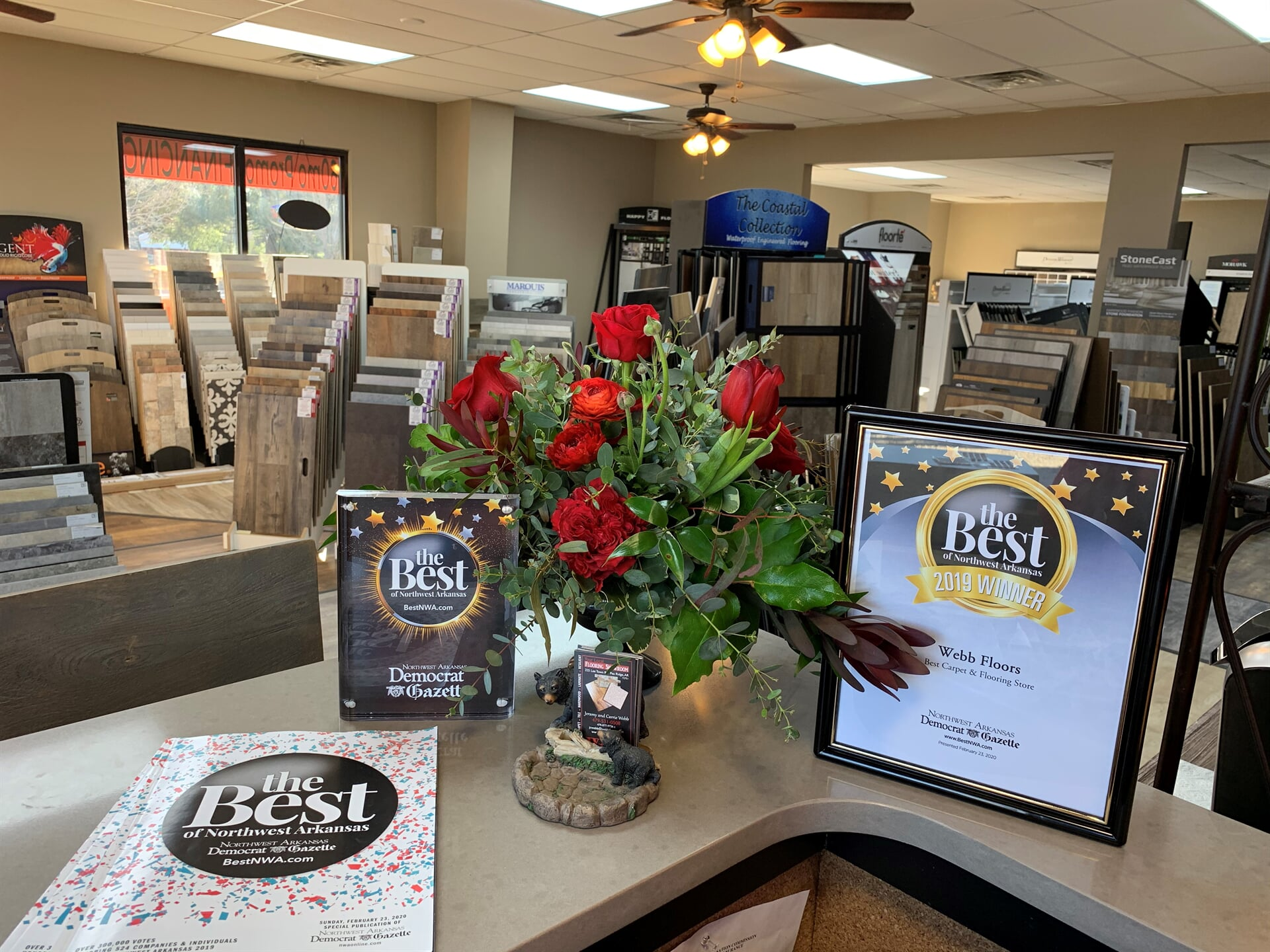 Our award winning showroom in Benton County, AR