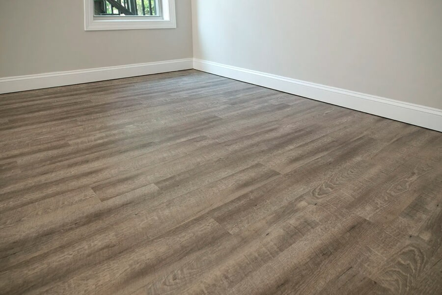 Modern wood look flooring installation in Columbia, TN from Inspired Flooring & Design