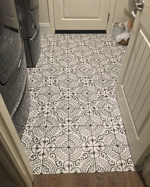 Mosaic tile flooring in Fontana, CA from Perry's Complete Floor