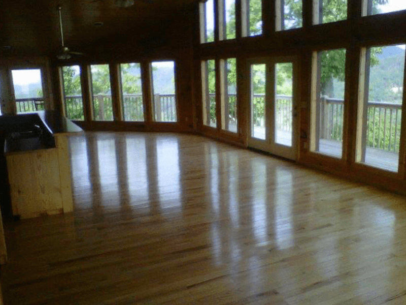 Hardwood flooring from Professional Installed Floors in Ball Ground, GA