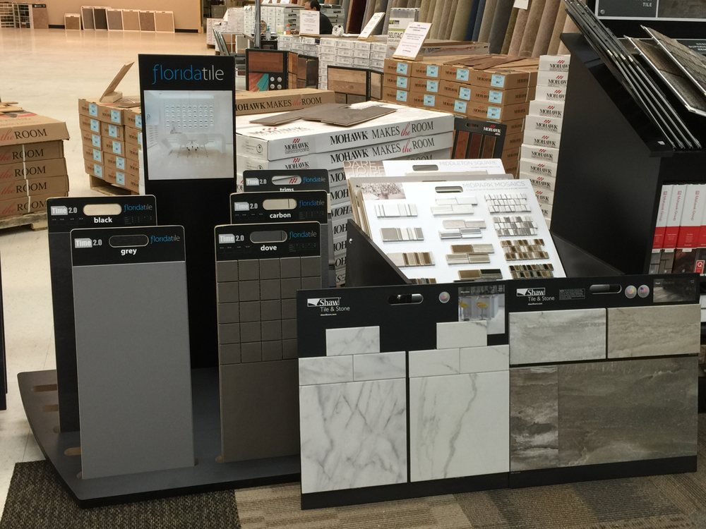 Tile flooring from The Wholesale Flooring in Little River, SC