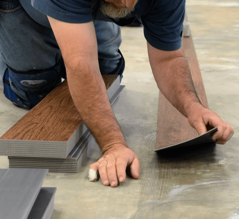 Hardwood flooring installation from Stafford's Discount Carpets in Yucaipa, CA