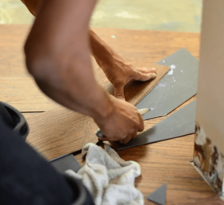 Hardwood flooring installation from Stafford's Discount Carpets in Beaumont, CA