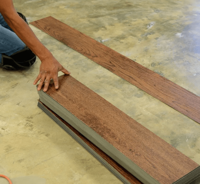 Hardwood flooring installation from Stafford's Discount Carpets in Highland, CA