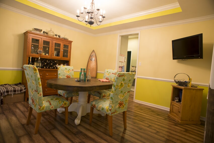 Interior painting done by D.L Richie Paint n' Decorating Center in Mount Lebanon, PA