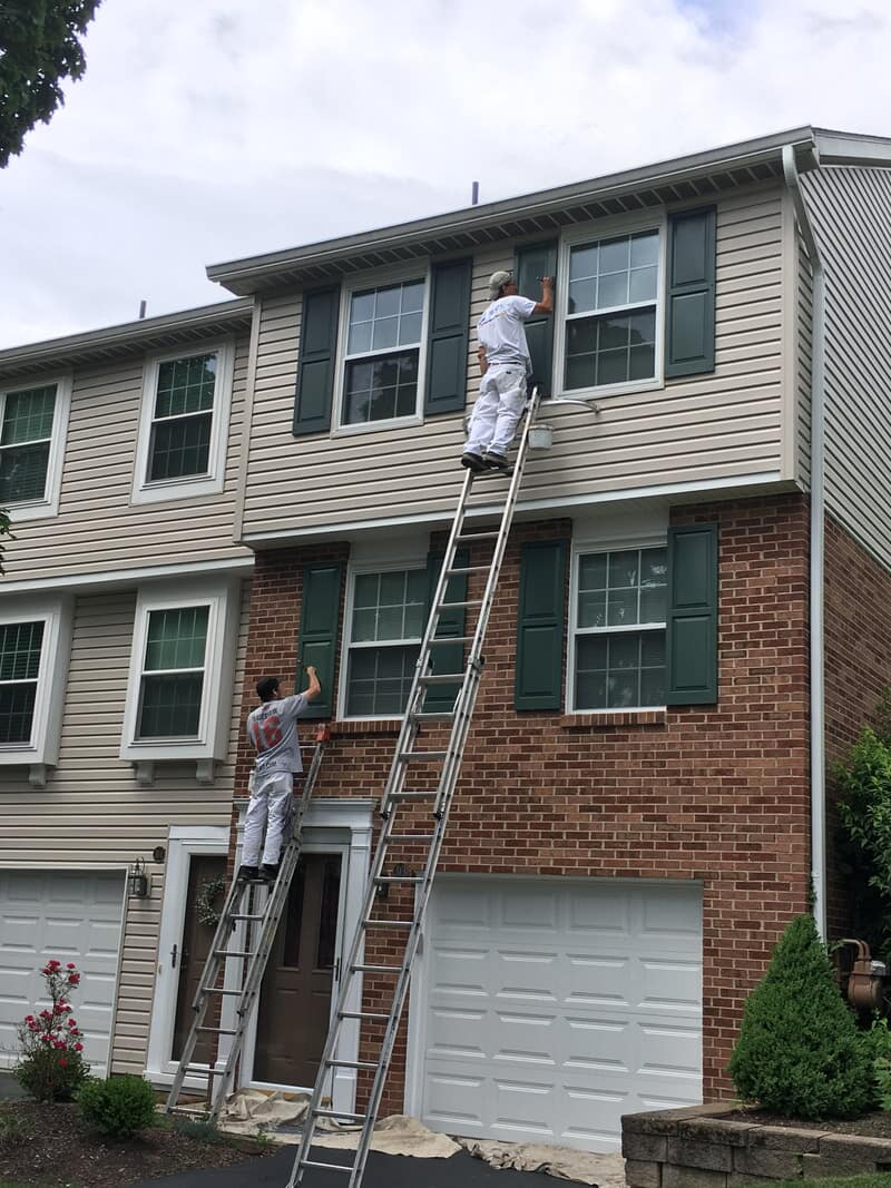 Window siding from D.L Richie Paint n' Decorating Center in Bethel Park, PA