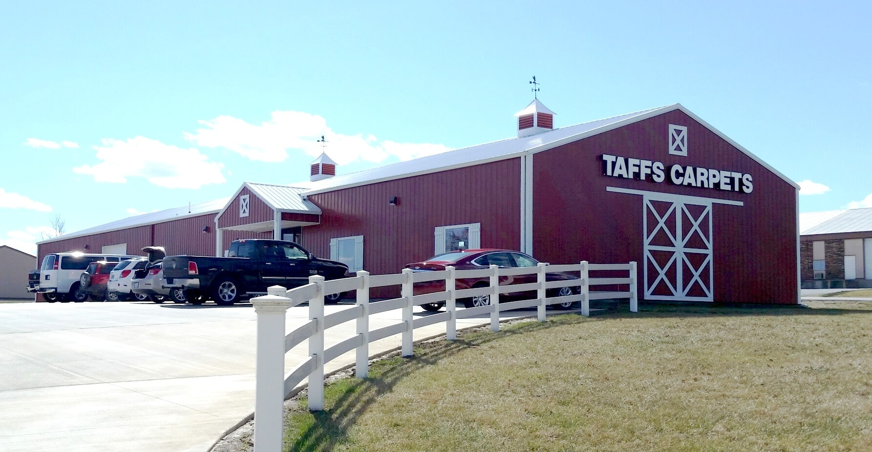 Taff's Carpets showroom in Kearney, MO