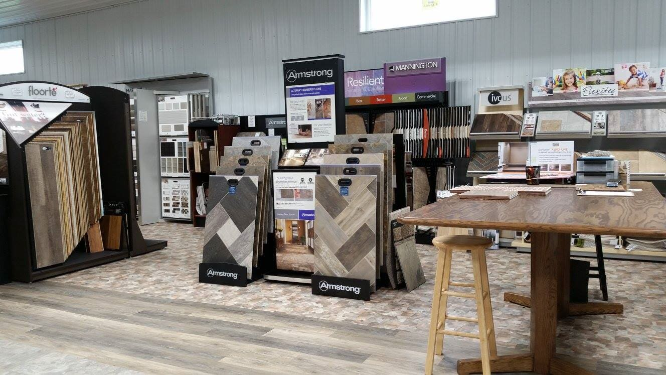 Taff's Carpets showroom in Smithville, MO