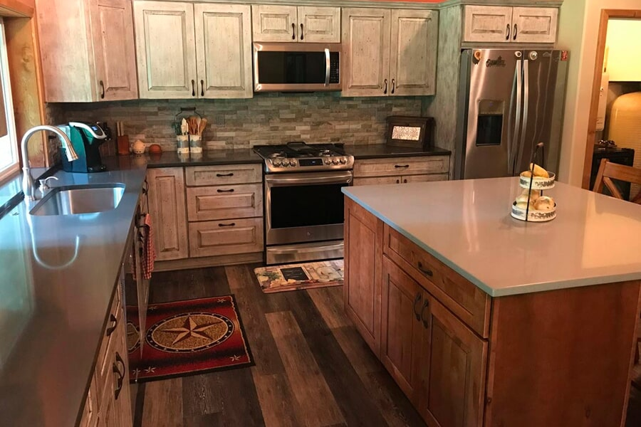 Cabinets from Morris Floors & Interiors in Lynden, WA