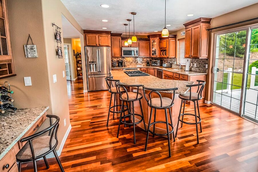 Cabinets from Morris Floors & Interiors in Bellingham, WA