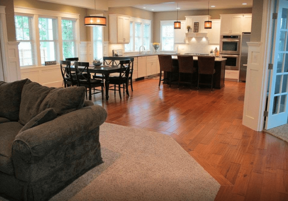 Luxury vinyl plank flooring from Morris Floors & Interiors in Mountain View, WA
