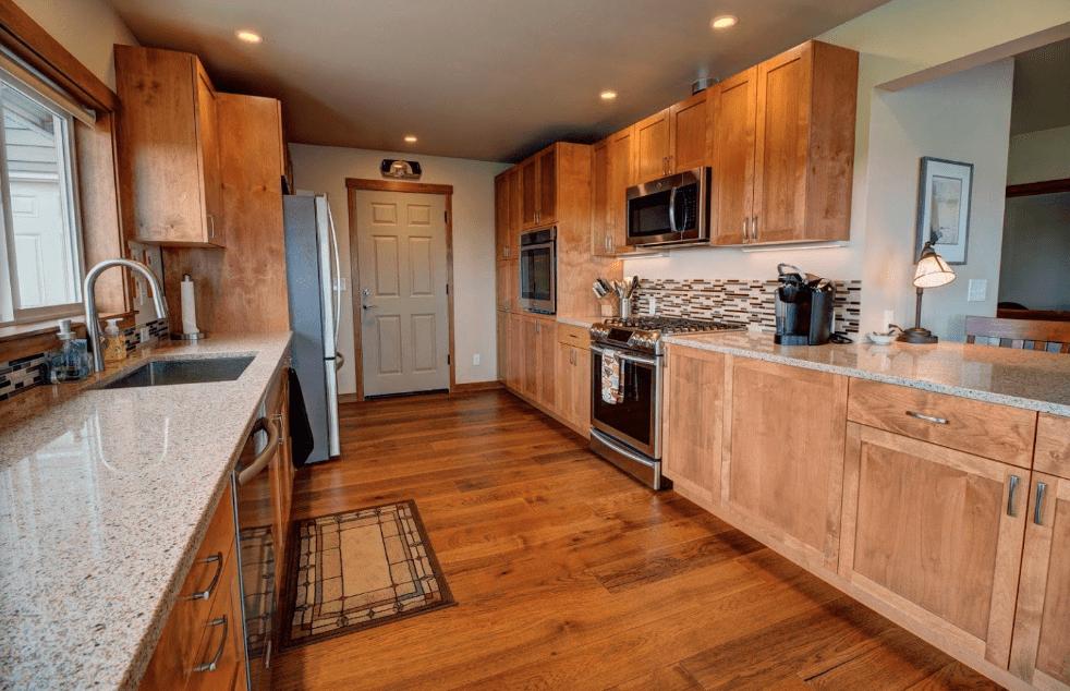 Hardwood flooring from Morris Floors & Interiors in Laurel, WA