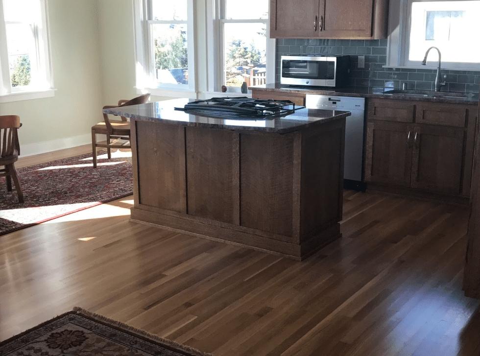Hardwood flooring from Morris Floors & Interiors in Sedro-Woolley, WA