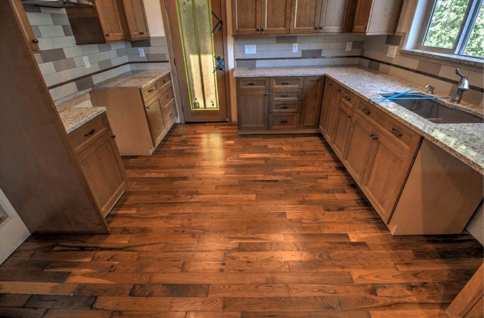 Luxury vinyl plank flooring from Morris Floors & Interiors in Deming, WA