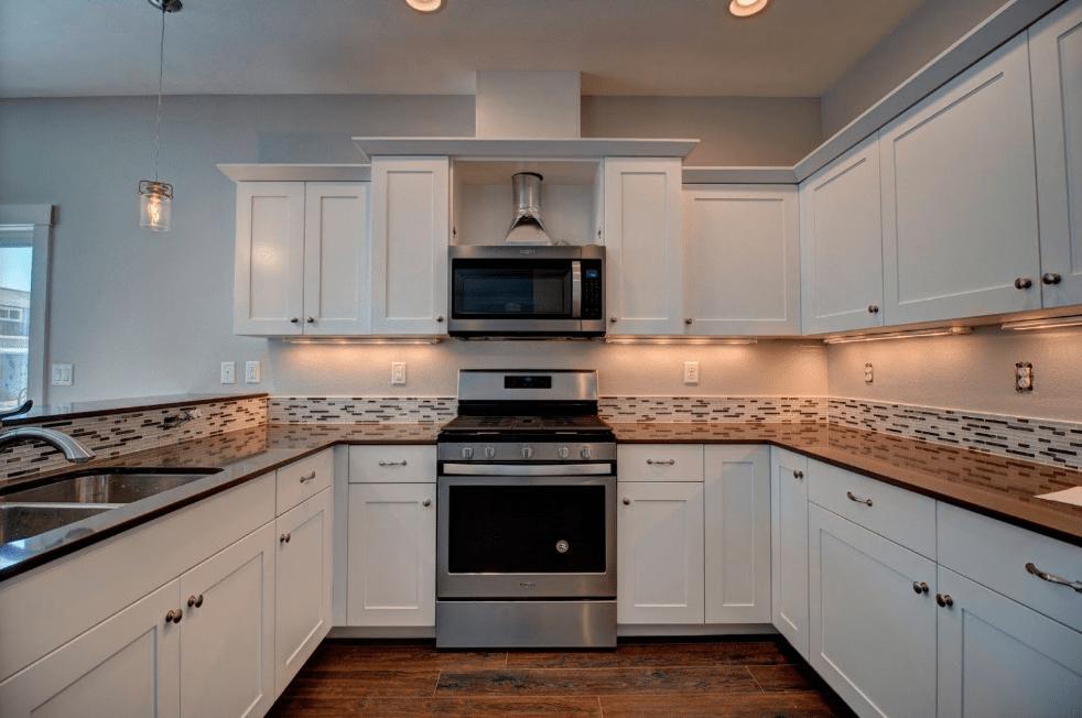 Backsplash from Morris Floors & Interiors in Burlington, WA
