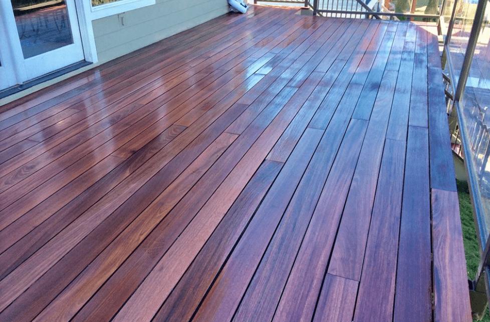 Wood plank deck from Morris Floors & Interiors in Mt Vernon, WA