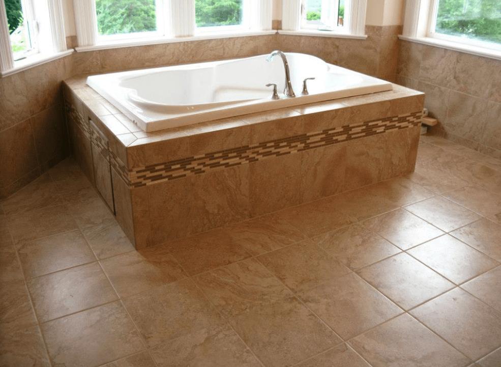 Bathroom tile from Morris Floors & Interiors in Ferndale, WA
