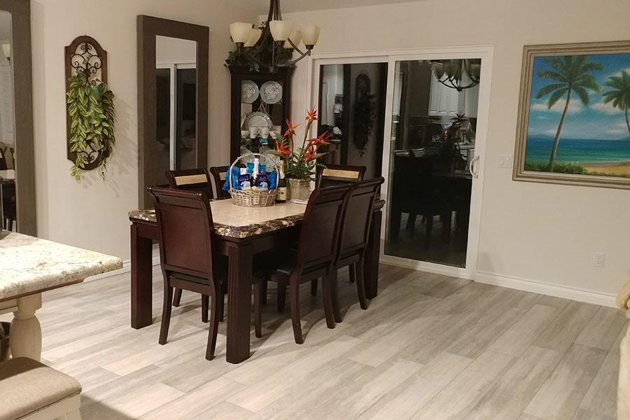Luxury vinyl plank flooring from Orion Flooring Inc in Rialto, CA