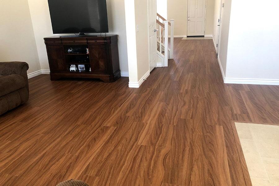 Vinyl plank flooring from Orion Flooring Inc in San Bernardino, CA