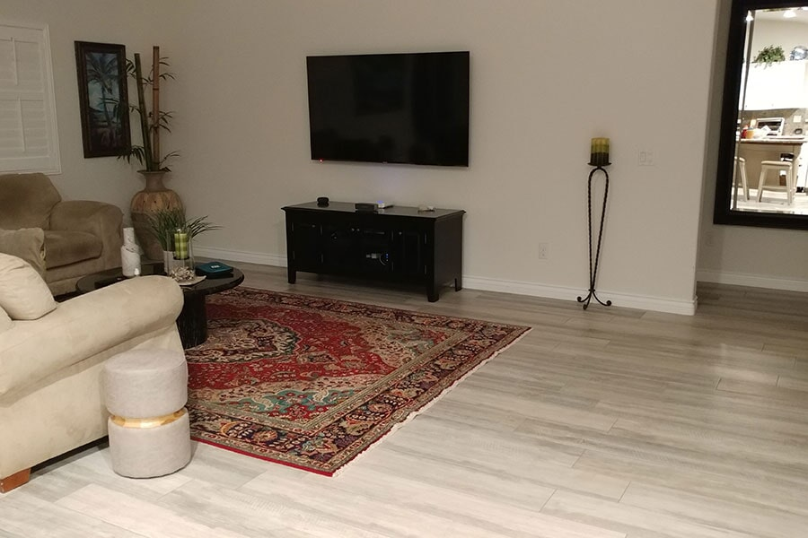 Luxury vinyl from Orion Flooring Inc in Riverside, CA