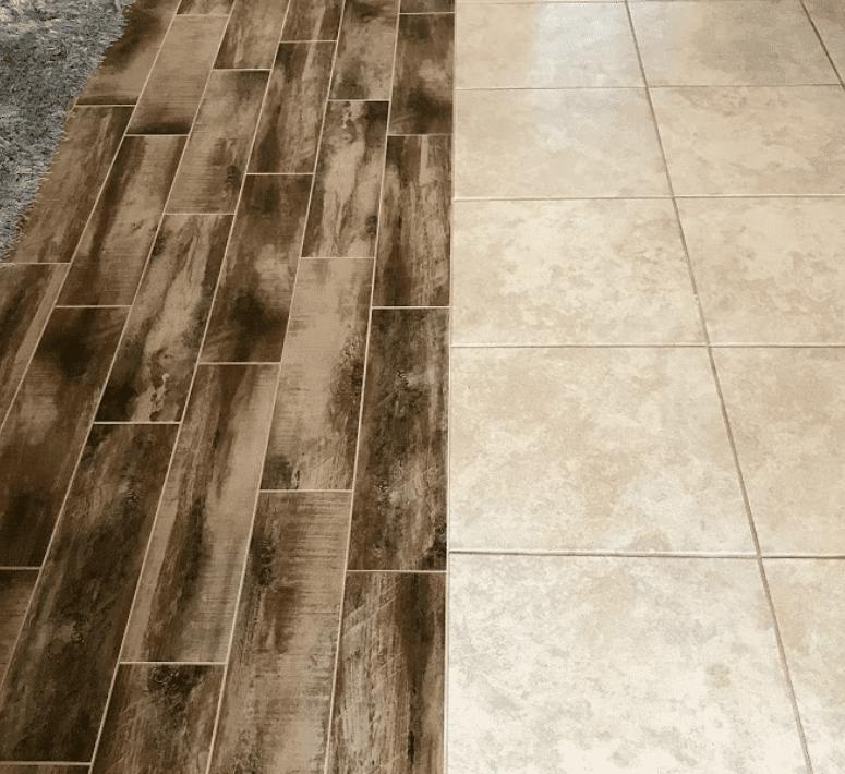 Multi surface flooring installation in Brandon, FL from Brandon Tile & Carpet