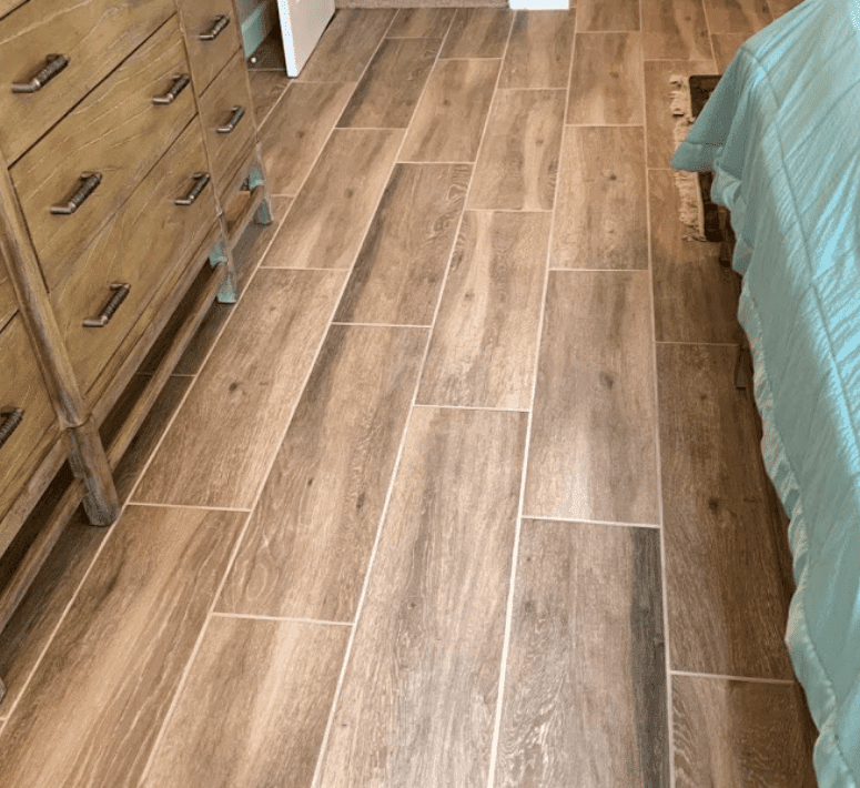 Beautiful wood look flooring in Tampa, FL from Brandon Tile & Carpet